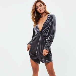 Missguided | Velvet Dress